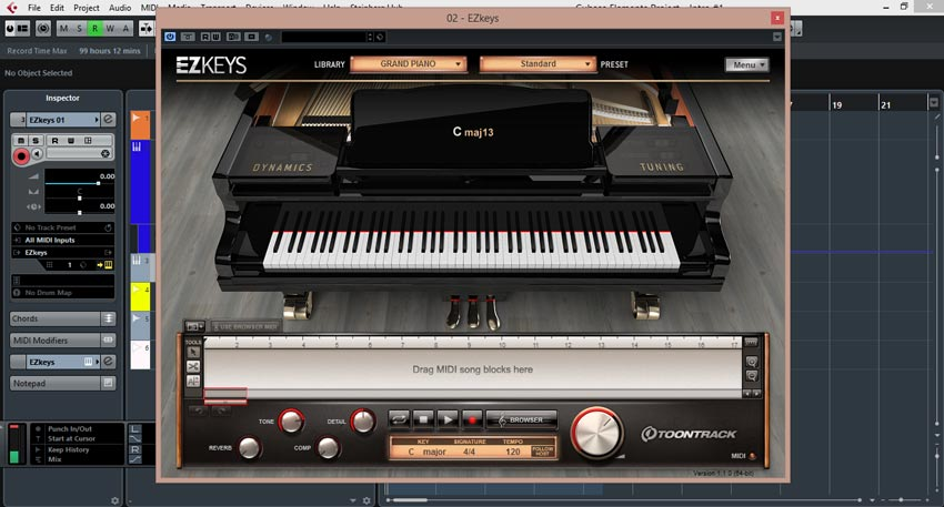 دانلود وی اس تی ToonTrack EZkeys Grand Piano v1.0.2