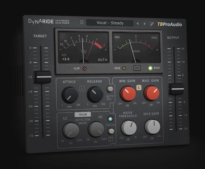 دانلود وی اس تی پلاگین گین رایدر TBProAudio DynaRide