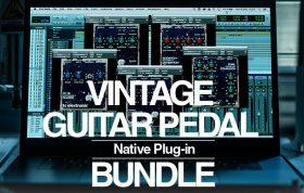 دانلود مجموعه پلاگین افکت گیتار TC Electronic Vintage Guitar Pedal