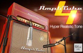 پلاگین امپ و افکت گیتار الکتریک و بیس IK Multimedia AmpliTube 4