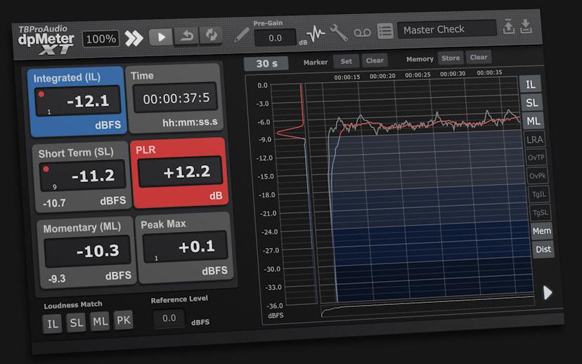 دانلود وی اس تی پلاگین انالایزر TBProAudio dpMeter XT