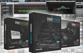 نرم افزار آهنگسازی میکسینگ و مسترینگ Cakewalk SONAR Platinum