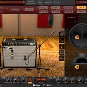 آموزش طراحی صدا Amplitube