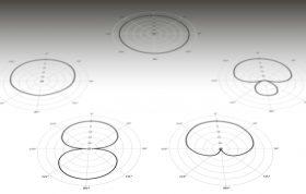 الگوهای دریافتی متفاوت در میکروفونها