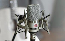 لرزهگیر در میکروفون ها