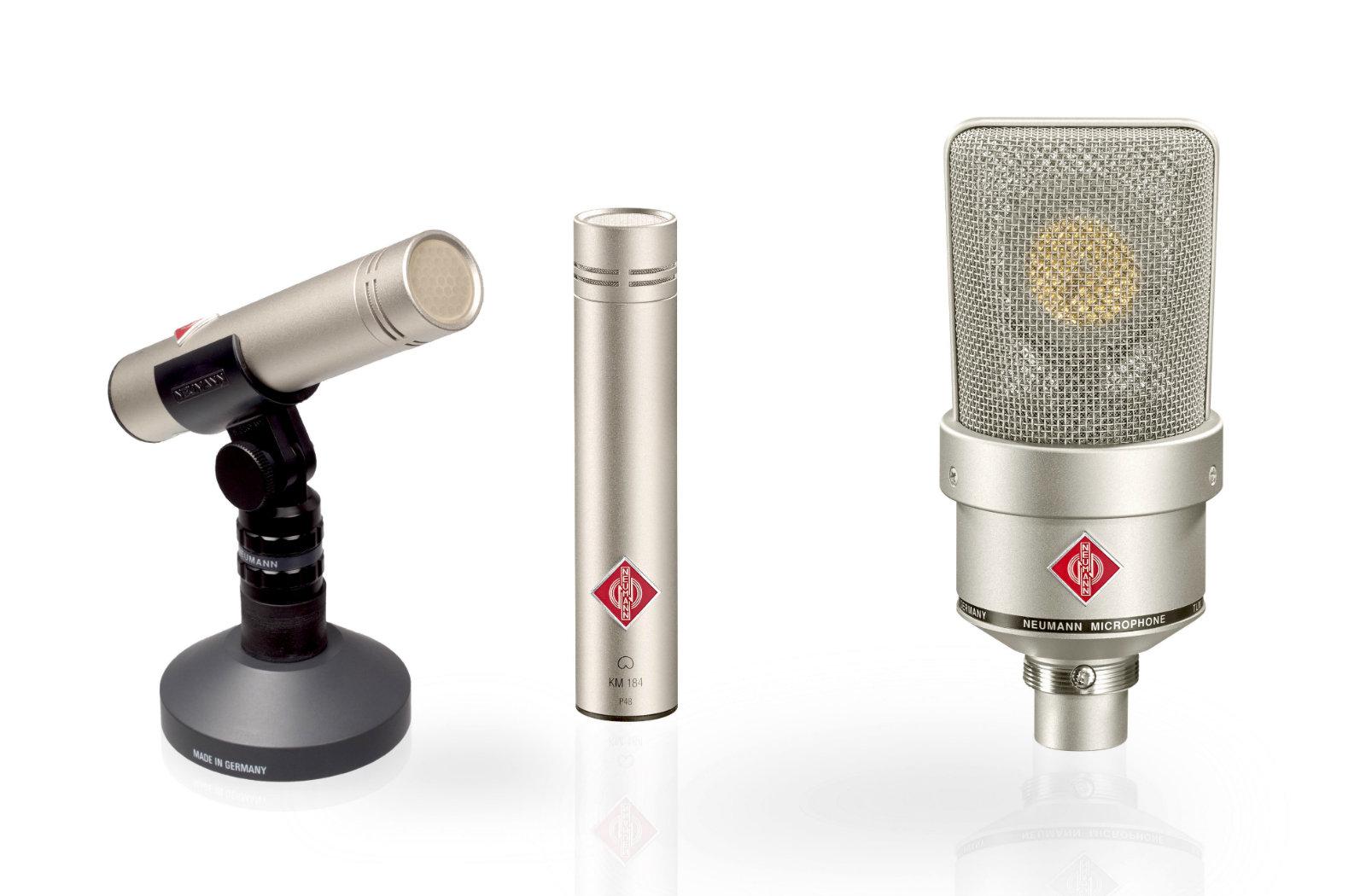 میکروفون های دیافراگم بزرگ و دیافراگم کوچک