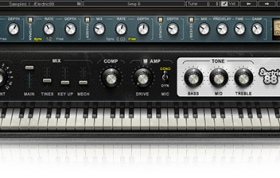 بانک صدای پیانو بانک صدای Waves Electric 88 Piano