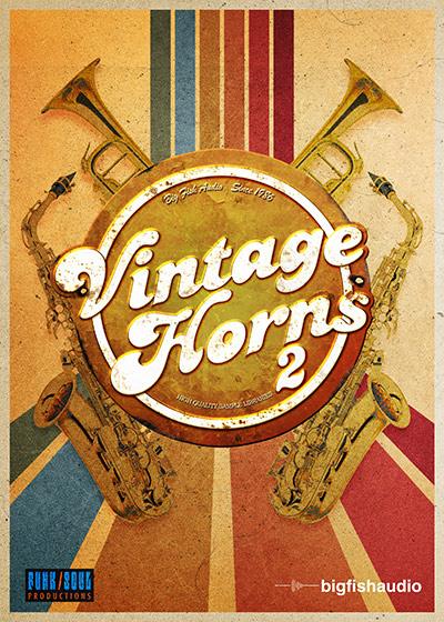 دانلود بانک صدای کانتکت Funk/Soul Productions Vintage Horns 2