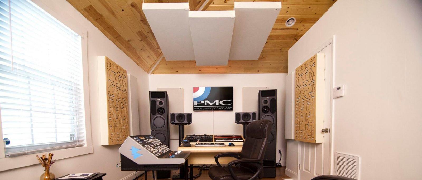 آکوستیکتریتمنت برای استودیو خانگی