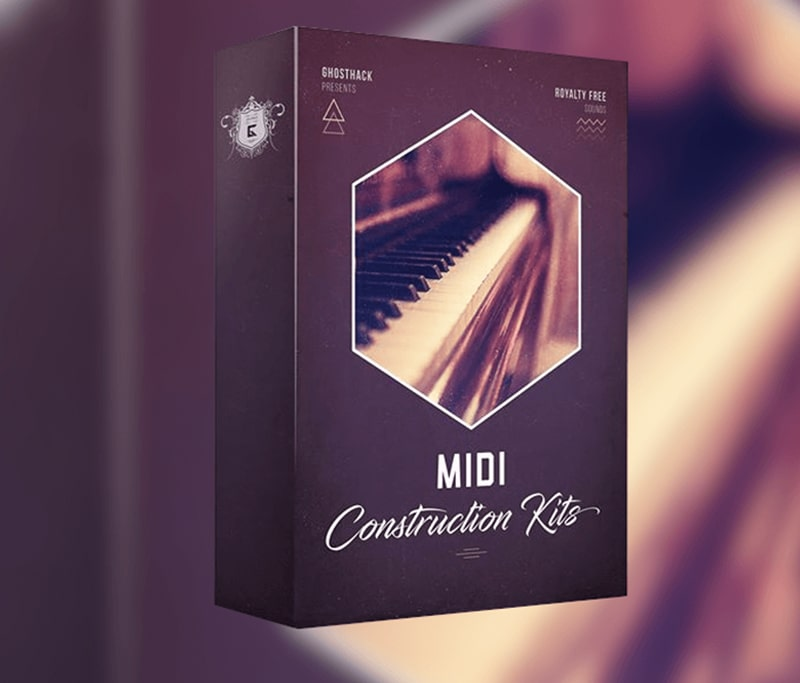 دانلود رایگان میدیپک Ghosthack MIDI Construction Kits