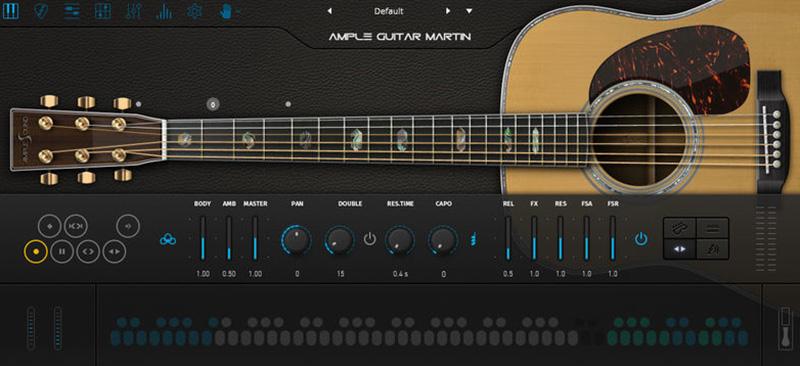 دانلود پلاگین گیتار Ample Sound Ample Guitar M v3.2