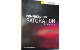 دانلود رایگان پلاگین Toontrack Compression & Saturation EZmix Pack
