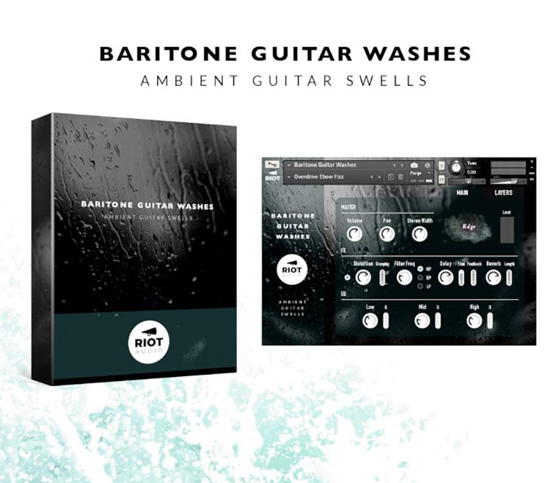 دانلود رایگان بانک صدای کانتکت Riot Audio Baritone Guitar Washes