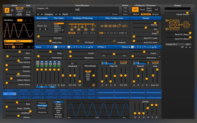 دانلود پلاگین سینتیسایزر SURGE Synthesizer