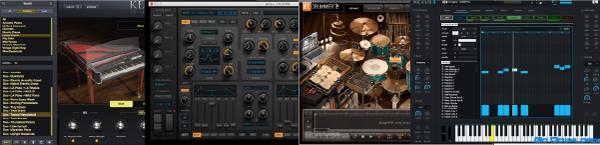 پلاگینهای سازهای مجازی (VATI) برای استفاده از صدای سازها در موسیقی