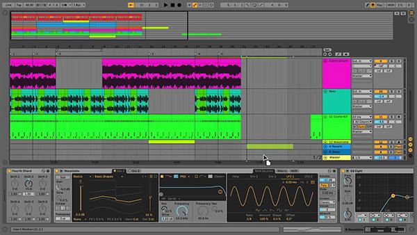 Ableton Live یک نرم افزار میزبان است که علاوه برا آهنگ سازی میتوانیم به عنوان دی جی از آن استفاده کنیم