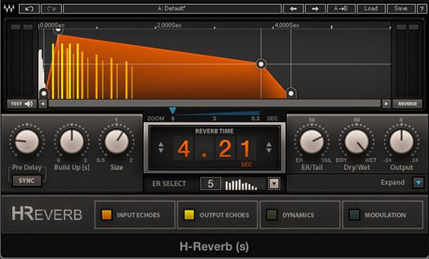 وی اس تی Waves H-Reverb برای ریورب