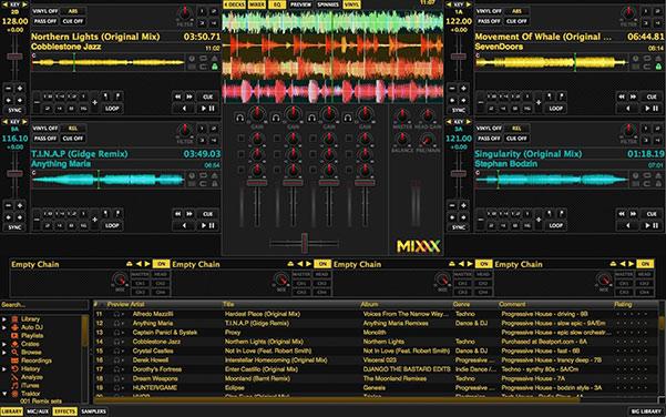 نرم افزار mixxx برای ساخت ریمیکس و دی جی در مهمونی و عروسی استفاده میشود