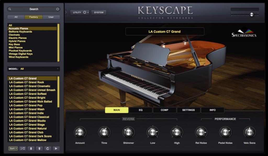 پلاگین Keyscape