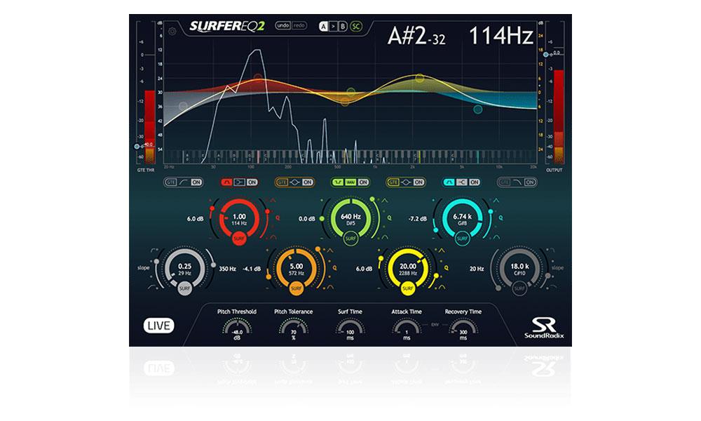 دانلود پلاگین اکولایزر Sound Radix SurferEQ