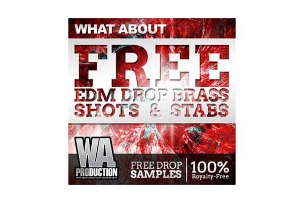 سمپل پک EDM Drop Brass Shots & Stabs