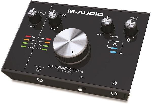 کمپانی محبوب M-AUDIO سری جدید از محصولات M-TRACK را تحت عناوین 2X2 و 2X2M را روی درگاه USB-C را اخیرا روانهی بازار کرده است.