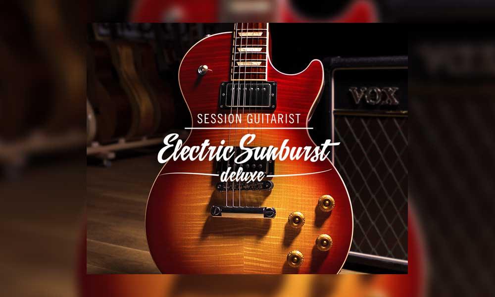 دانلود بانک صدای کانتکت Native Instruments Session Guitarist Electric Sunburst