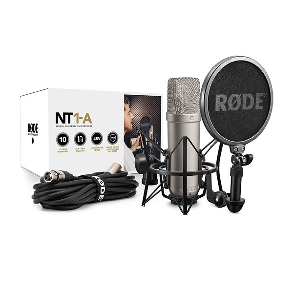 RØDE NT1-A، یکی از پرطرفدارترین میکروفونهای صنعت صدا است. این میکروفون استودیویی و کاندنسر از محصولات پرفروش کمپانی Rode میباشد.