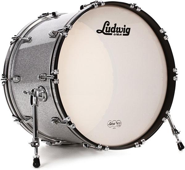 کیک (بیس) یا طبل بزرگ (Kick/Bass drum)