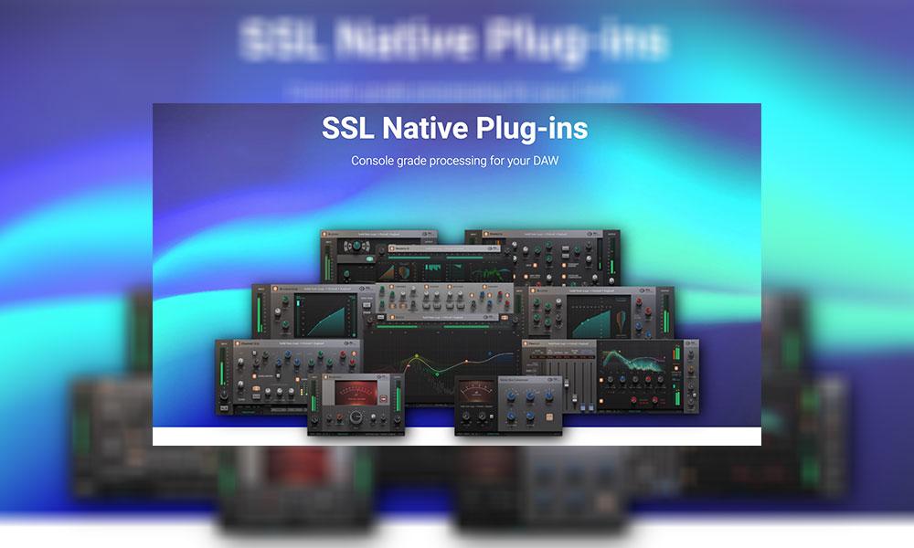 پلاگین solid state logic ssl native plugins