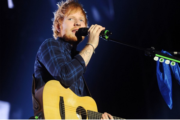 Ed Sheeran popstar live