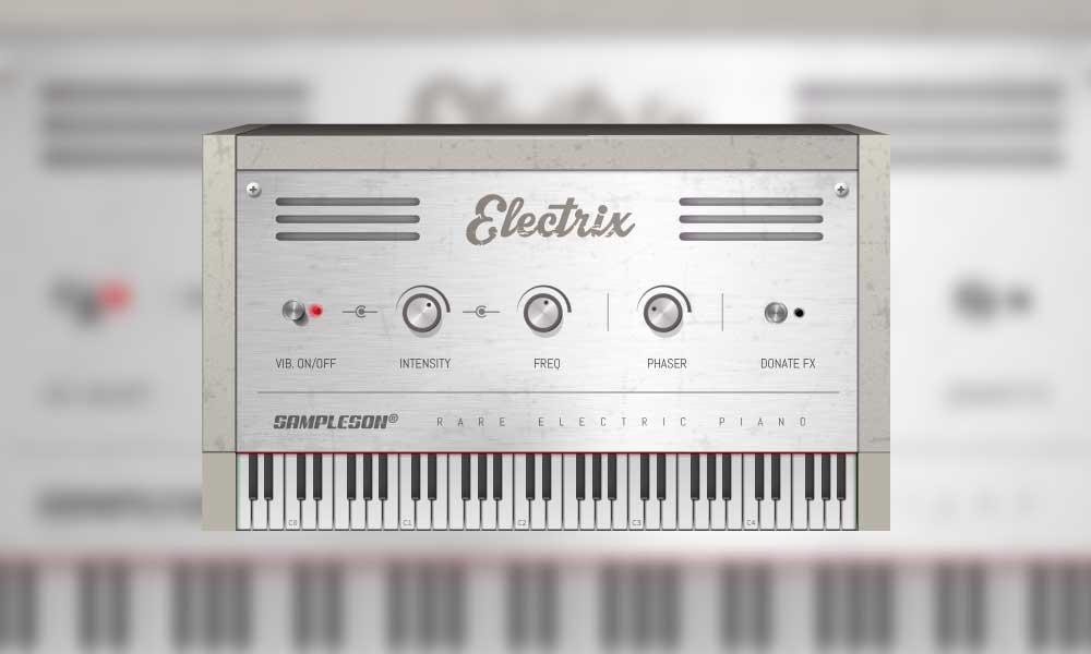 دانلود پلاگین پیانو الکتریک Sampleson Electrix