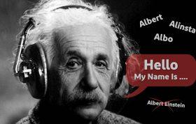 نام مستعار برای آلبرت انیشتین