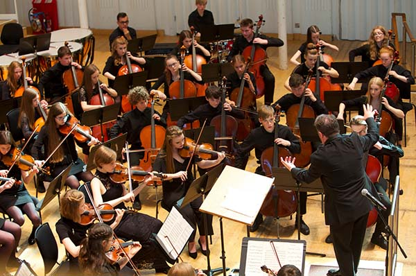سازهای زهی آرشهای در ارکستر