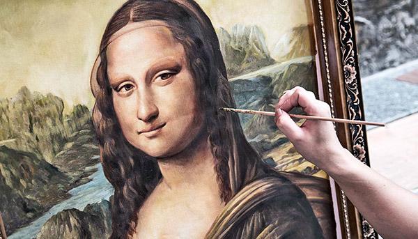 ارزش نقاشی مونالیزا به تک بودن آن است