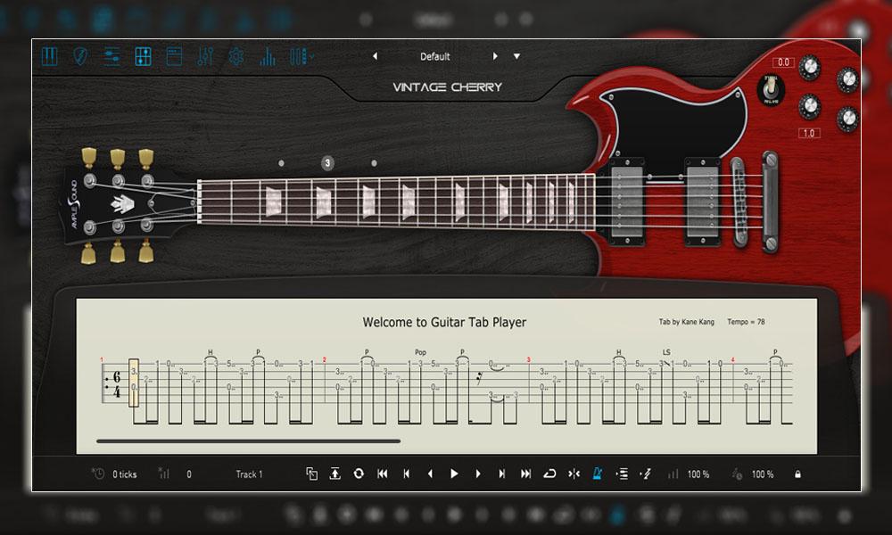 وی اس تی گیتار الکتریک Ample Sound Ample Guitar VC