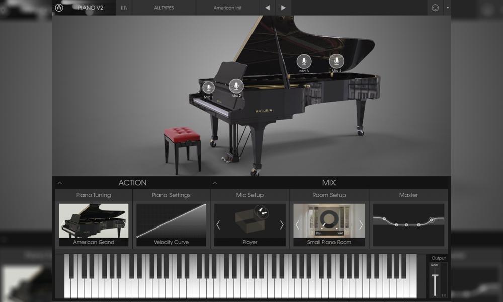 وی اس تی پیانو Arturia Piano V2