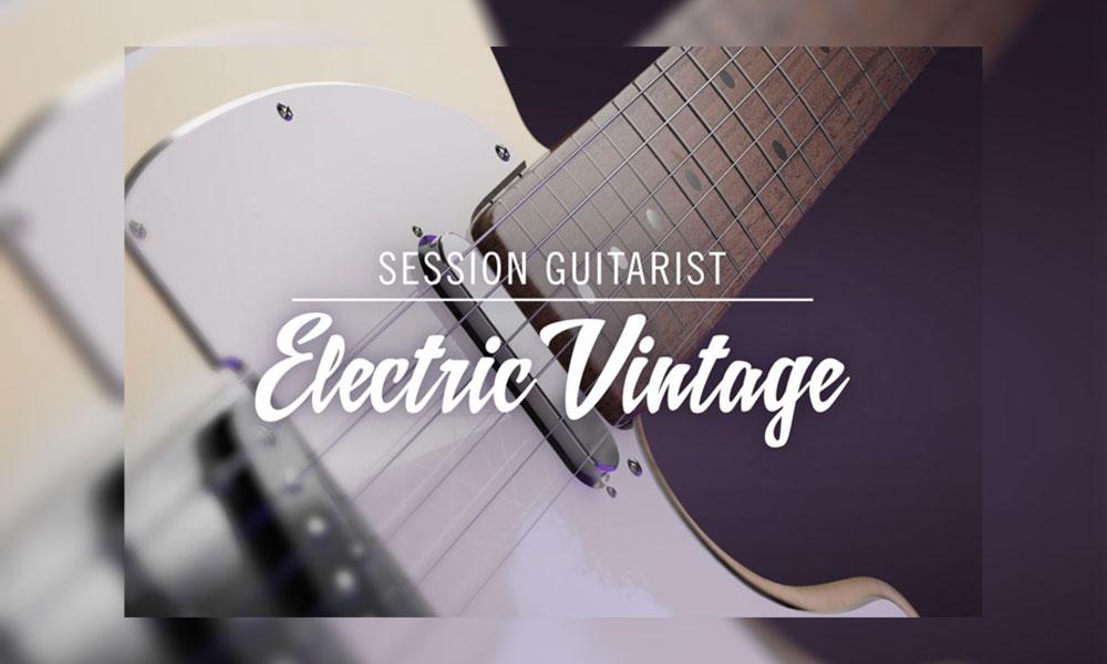 دانلود بانک صدای Session Guitarist Electric Vintage KONTAKT