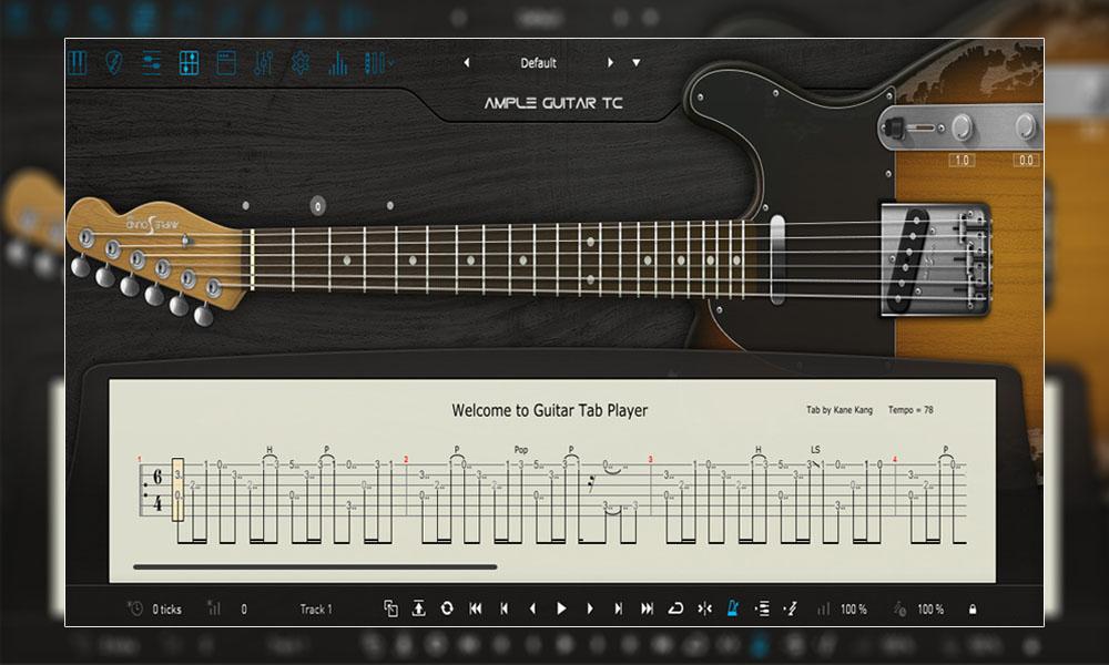 وی اس تی گیتار الکتریک Ample Sound Ample Guitar TC