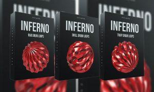 مجموعه لوپ و سمپل Cymatics Inferno Drum Loops