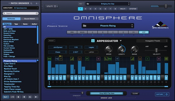 2 Omnisphere به دنبال خلق صداهای جدید سینتی سایزر