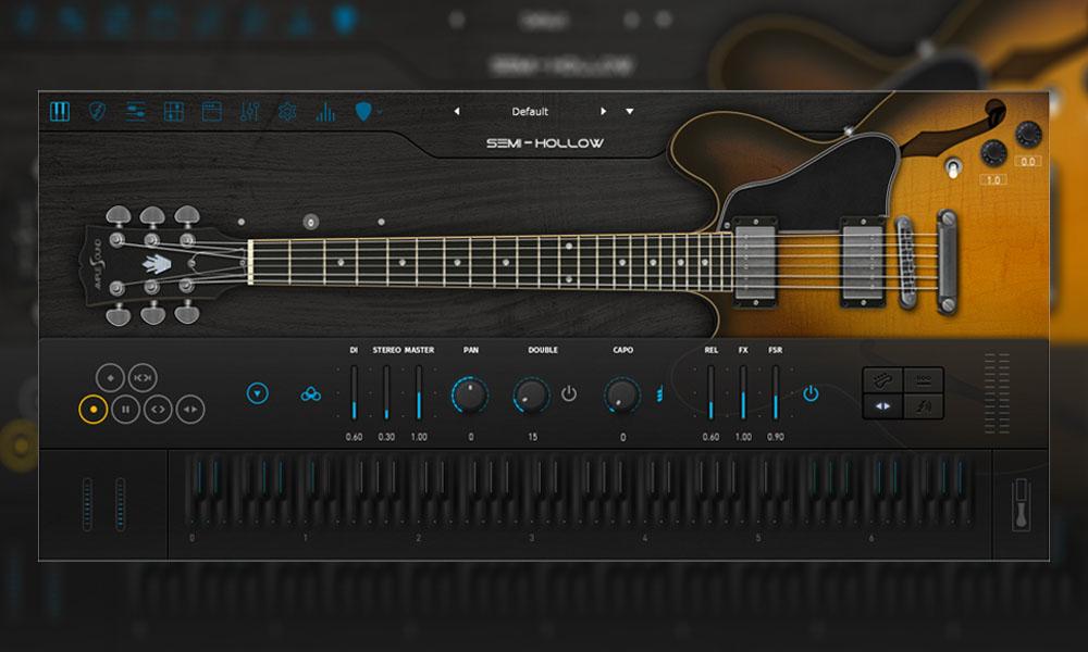 وی اس تی گیتار الکتریک Ample Sound Ample Guitar Semi Hollow