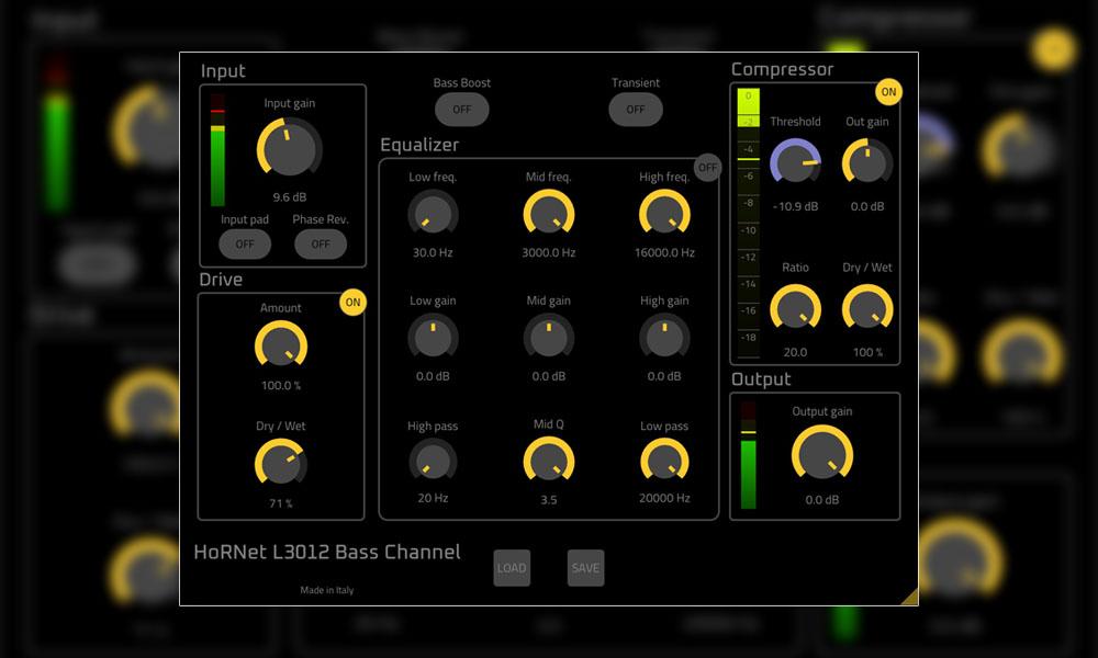 پلاگین چنل استریپ بیس HoRNet L3012 Bass Channel