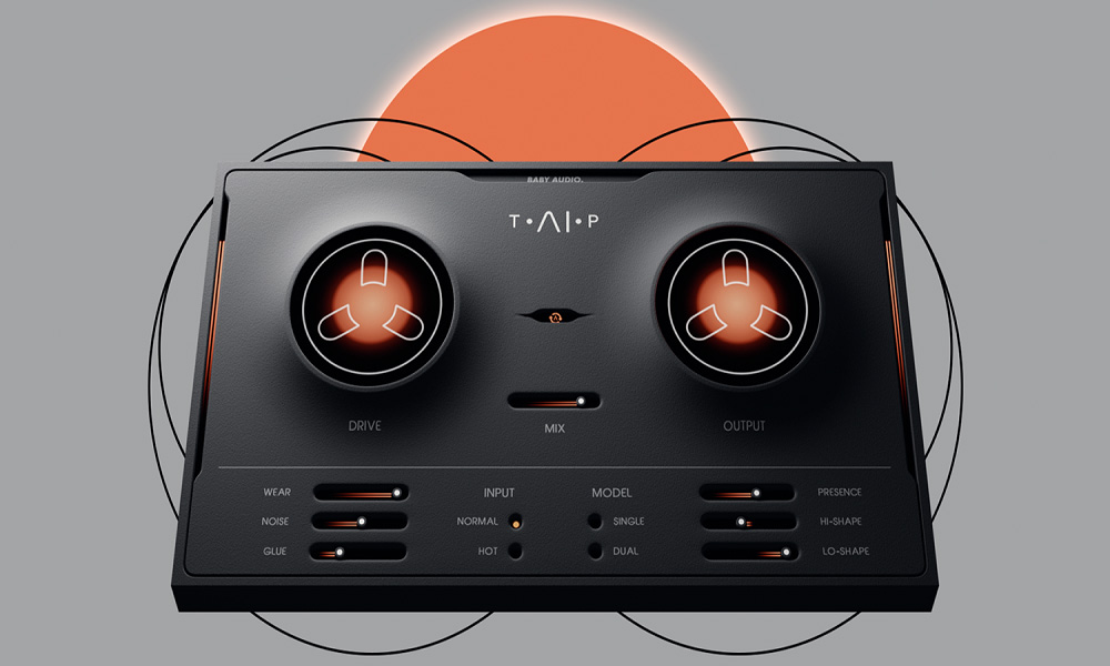 Baby Audio پلاگین تیپ ماشین