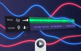 جداسازی صدای وکال