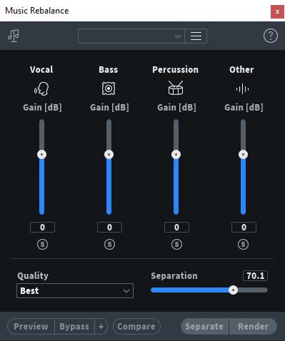 Bass و Percussion و Other و Vocal