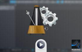 این ویدیو درحالت عدم انتشار میباشد. آشنایی با تنظیمات مترونوم و تمپو در استودیو وان (Metronome)
